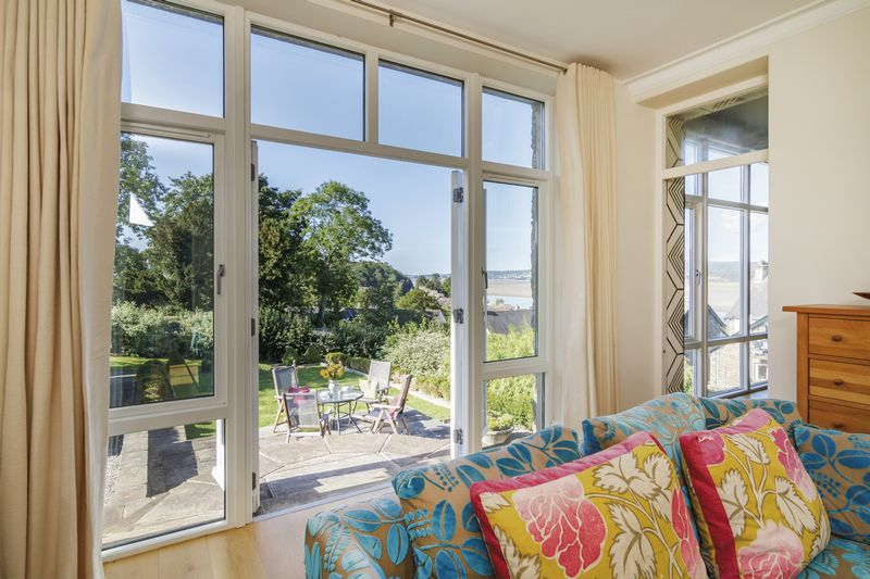 French doors to the sun terrace