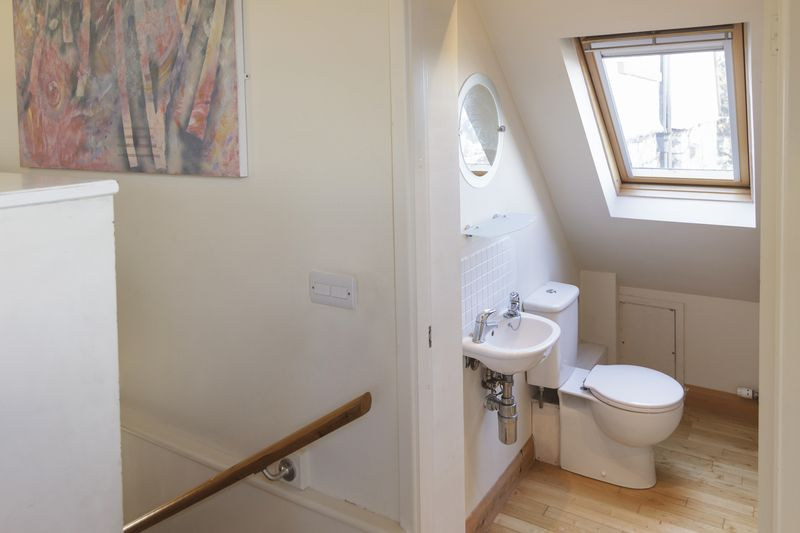 Bathroom in annexe