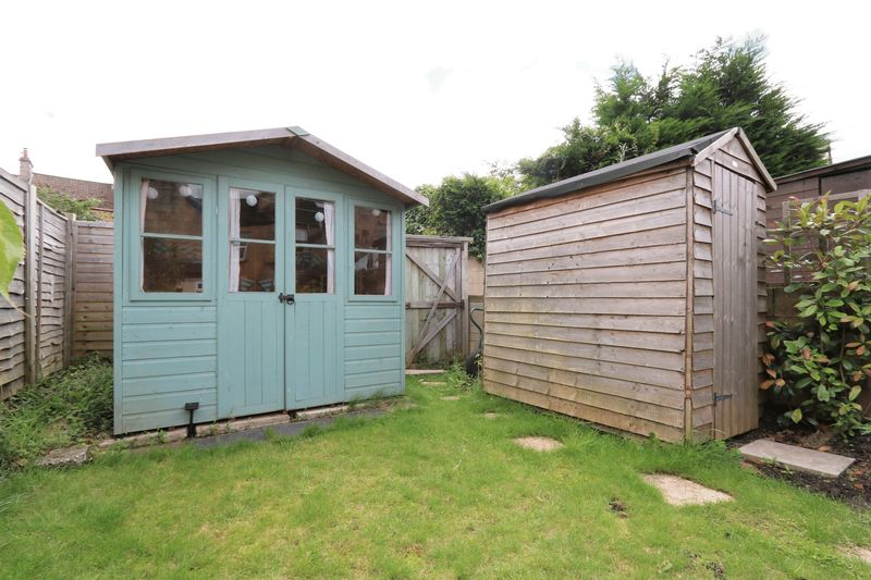 Summer house and shed