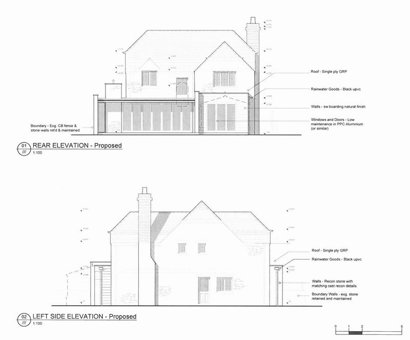 Proposed elevations 16/02519/F
