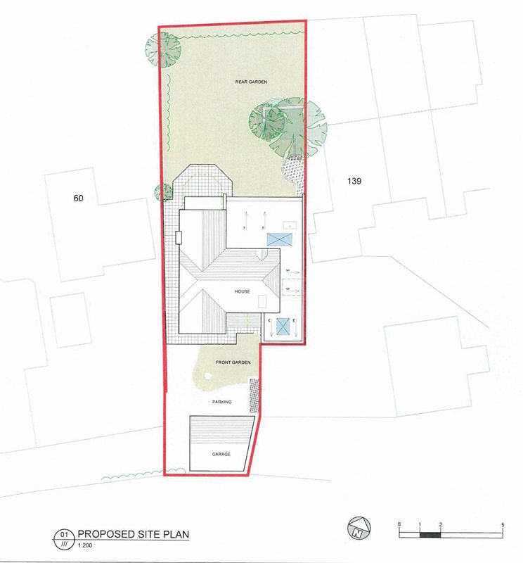 Proposed site plan 16/02519/F