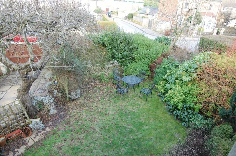View of Garden From Upstairs Window