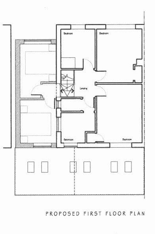 Proposed first floor plan