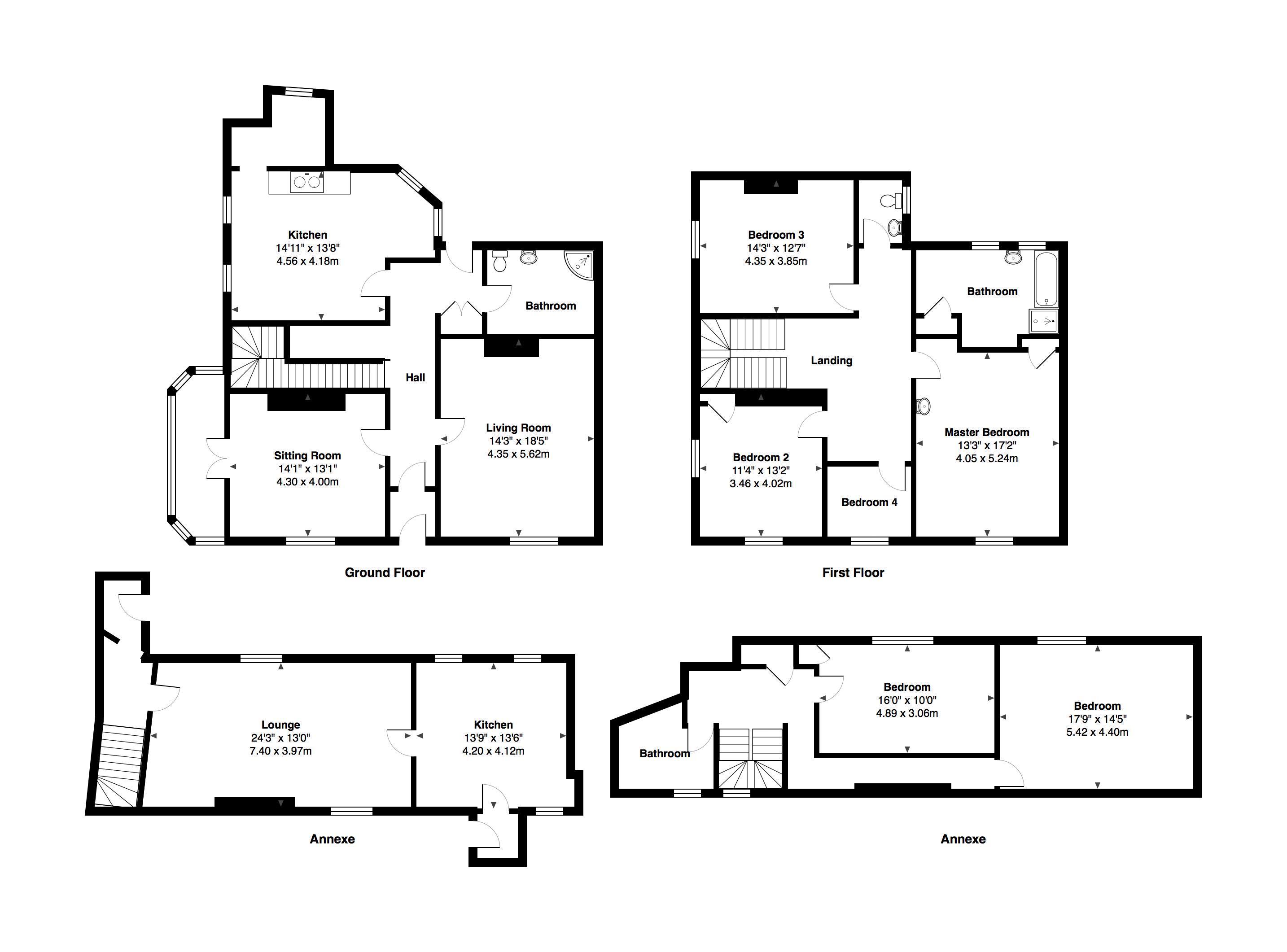 Ashburton road newton abbot clive pearce property for 1200 post oak floor plans