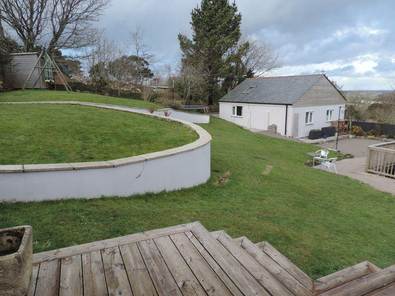 Garden and detached two bedroom bungalow