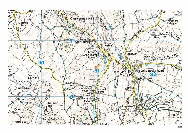 Between Charlecombe and Rocombe, Stokeinteignhead
