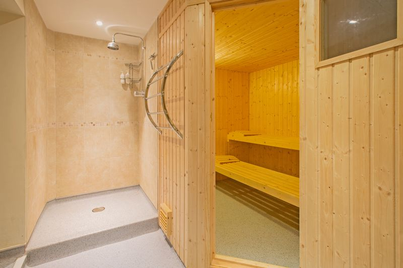 sauna/wet room