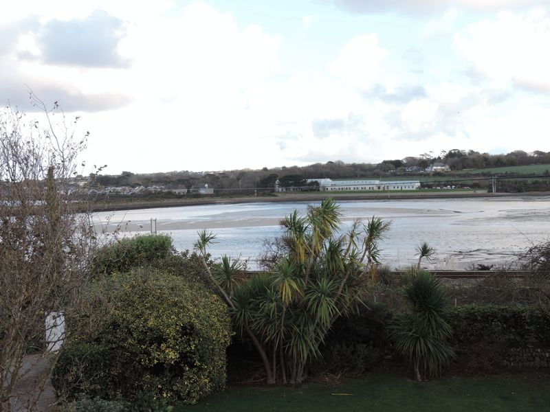 View over saltings and estuary
