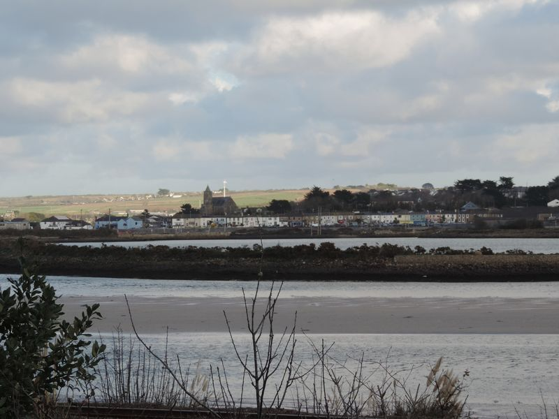 View over estuary towards Hayle