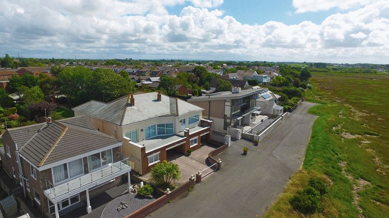 AERIAL VIEW OF FRONT