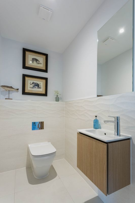 Cloakroom - Show Home