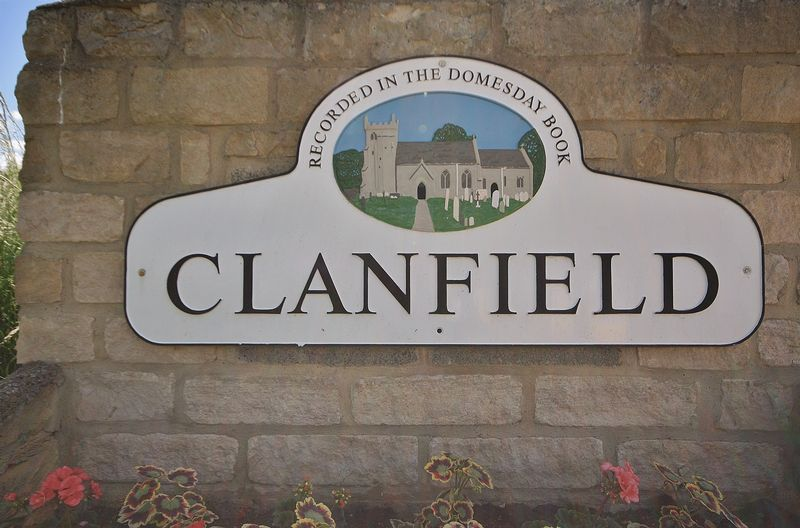 Clanfield Village Sign