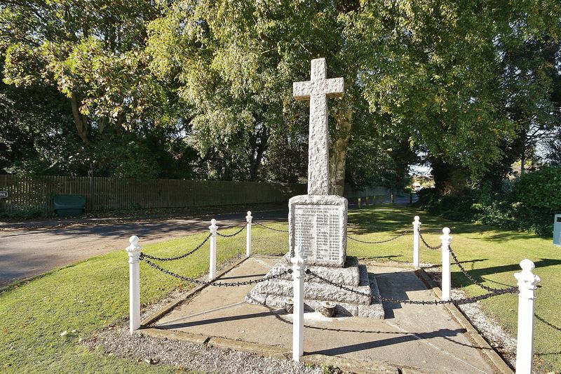 Memorial at Clanfield