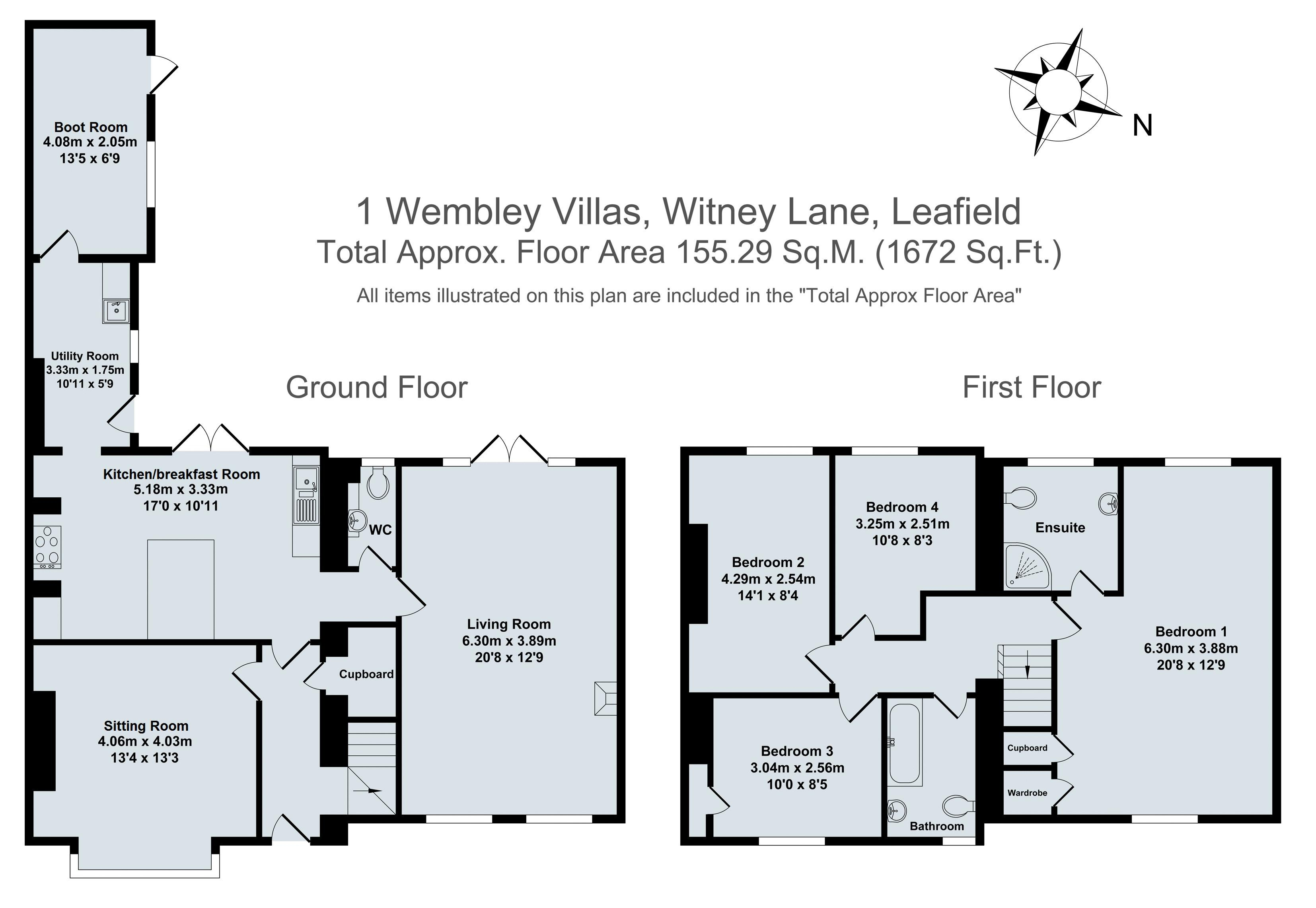 Wembley Villas, Witney Lane