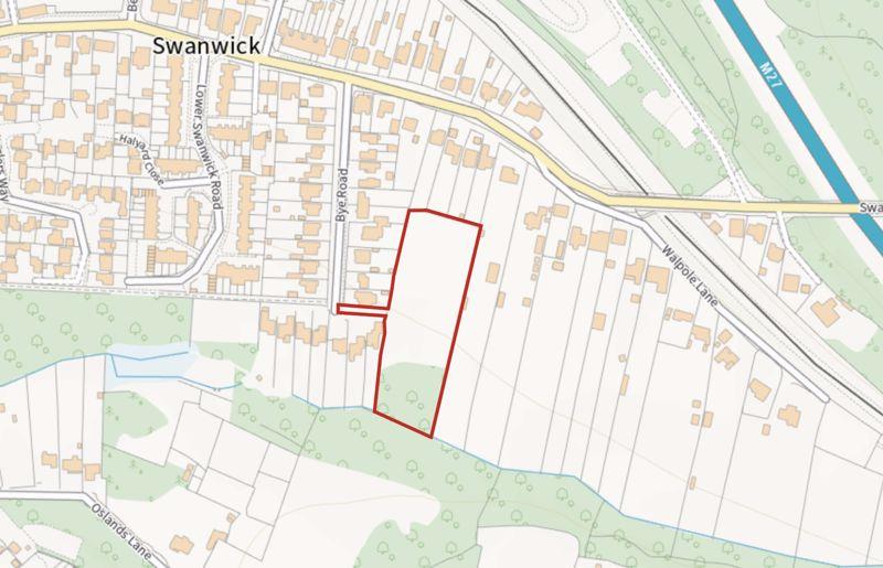 (Plot 1) Bye Road Swanwick
