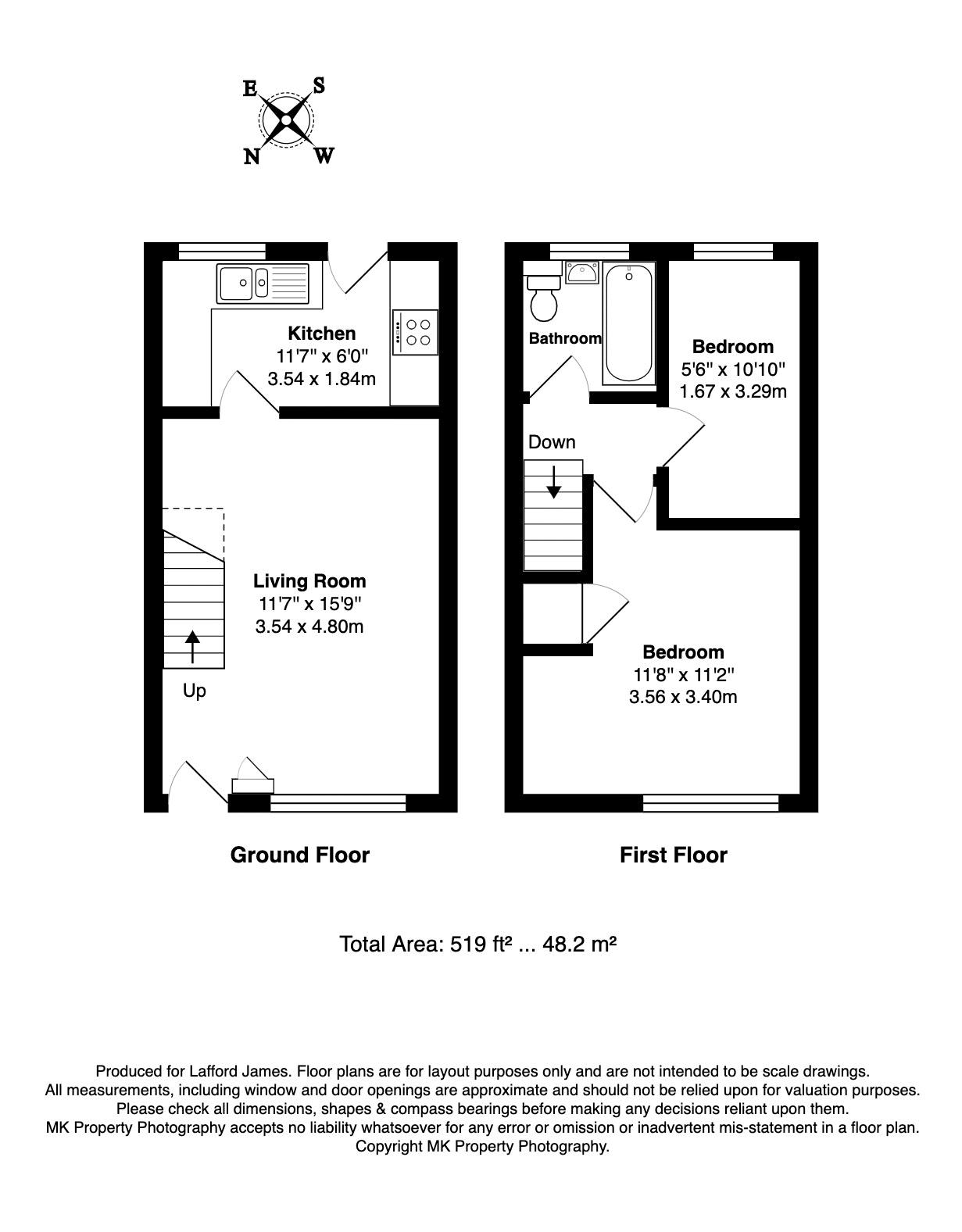 60 Pimpernel Grove Floorplan
