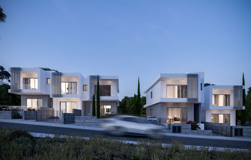 View of Townhouses (Artist Impression)
