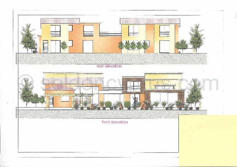 Building Plans - Front & Rear