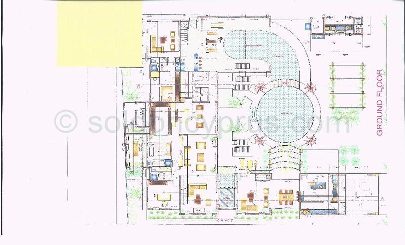 Ground floor building plans