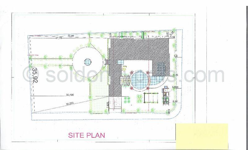 Top view building plans
