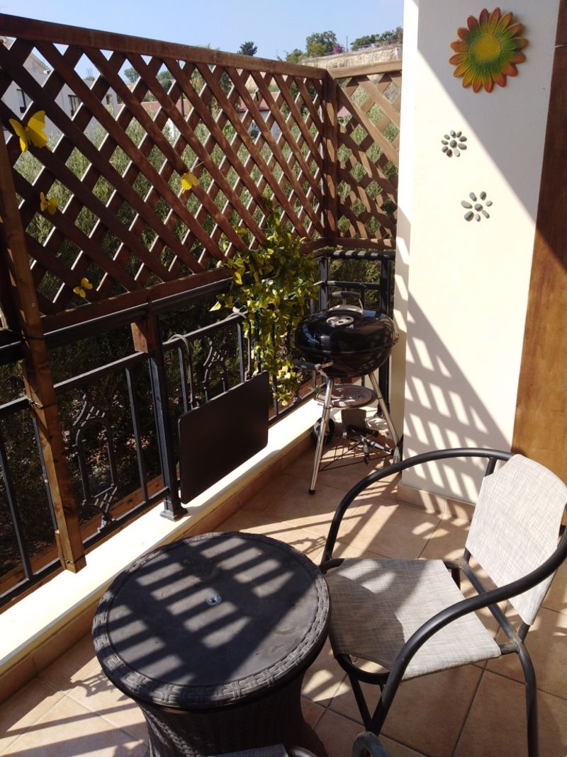 Balcony from Dining Area