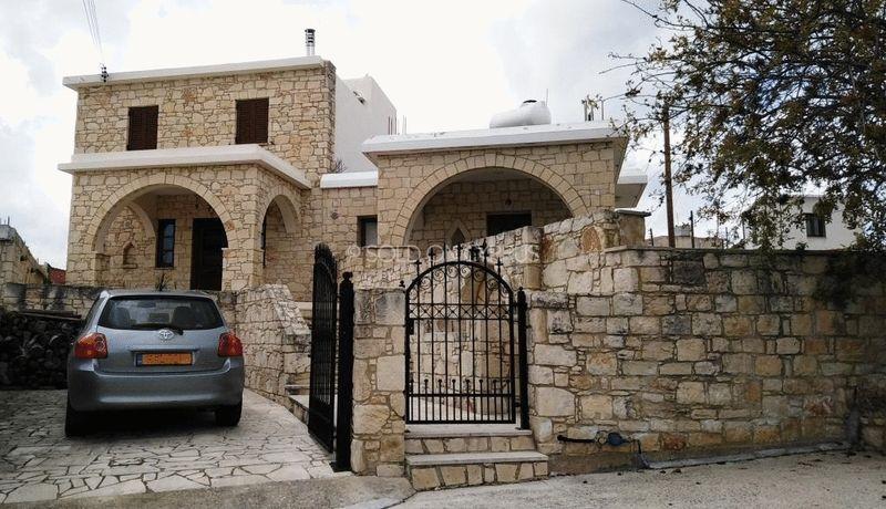 Stone Villa with Private Drive