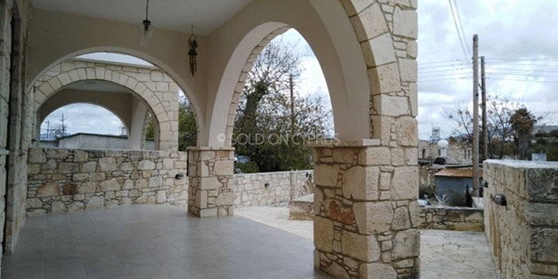 Covered Area with Arches