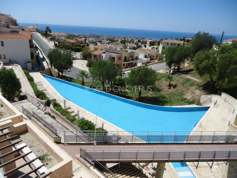 Communal Pool and Sea View