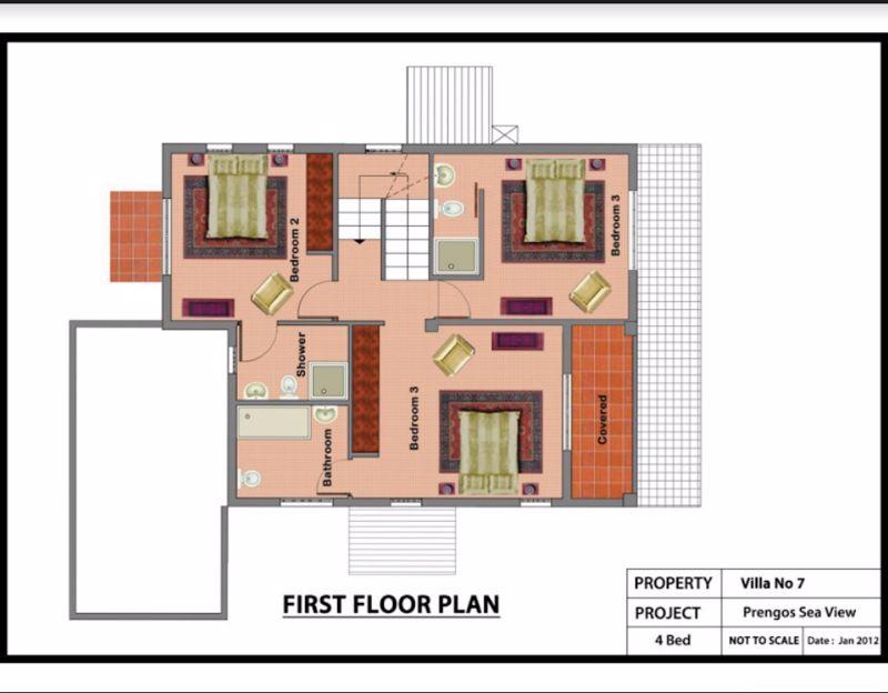 1st floor 4 bedroom floor plan