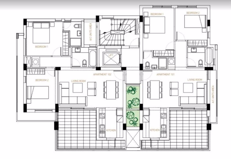 Example of floor plans