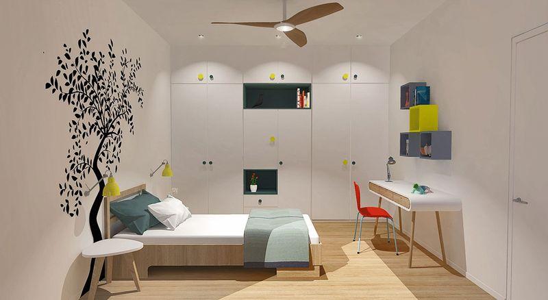 Artist impression  bedroom