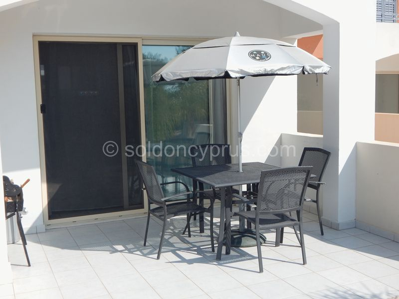 Part Covered Patio Area