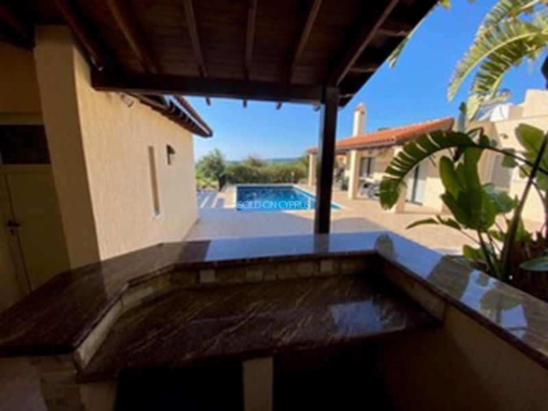 Outside Kitchen to Swimming Pool