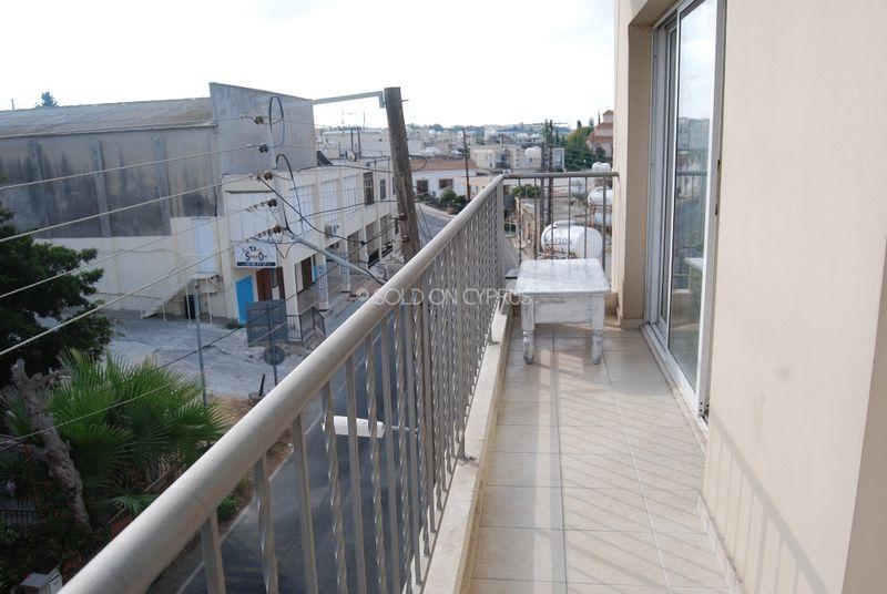 Balcony from Kitchen