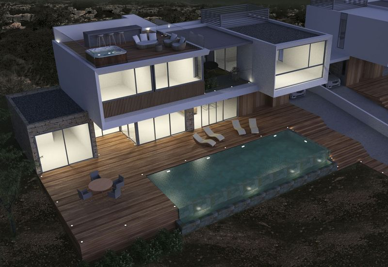 Roof Terrace And Swimming Pool (Artist Impression)