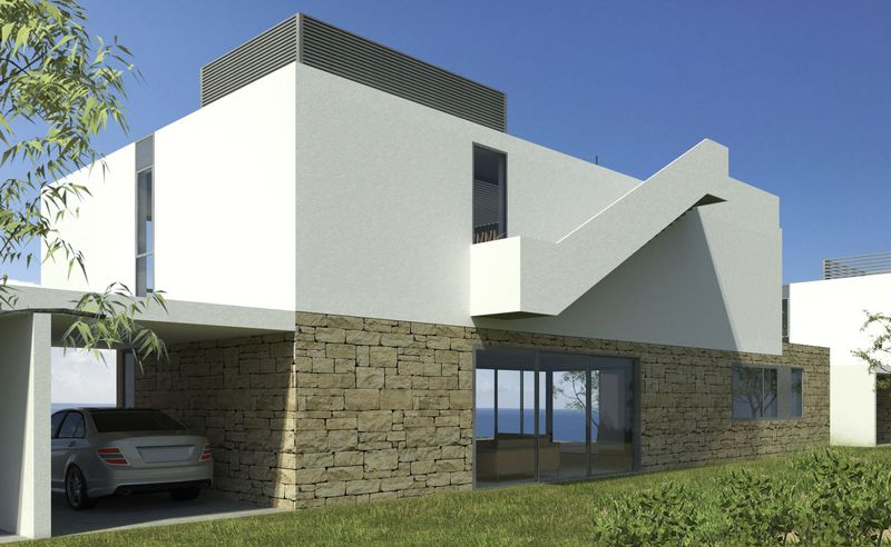 Villa With Covered Parking (Artist Impression)