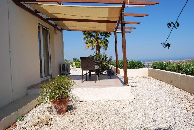Private veranda from master bedroom