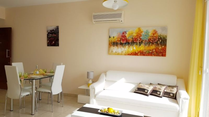 Living Area with access to Veranda