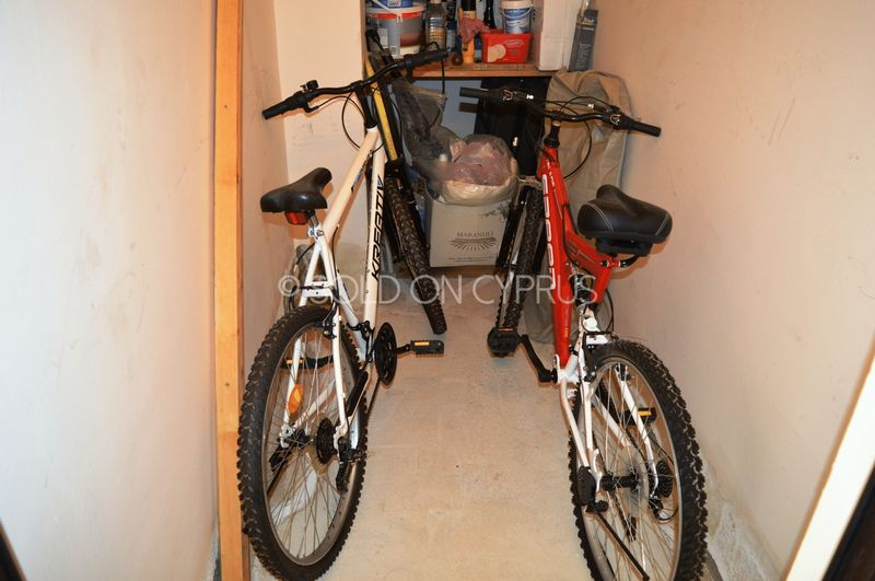 Mountain bikes included in sale
