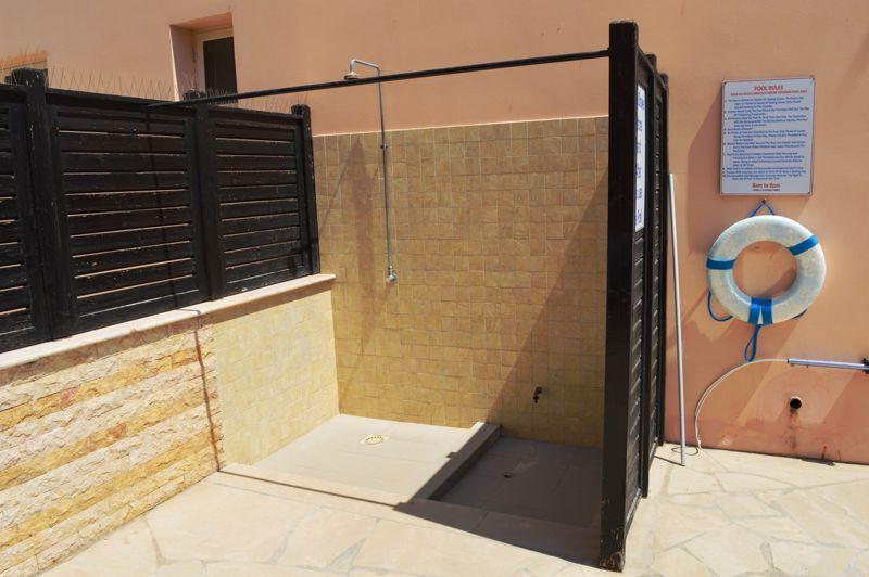 Pool showers
