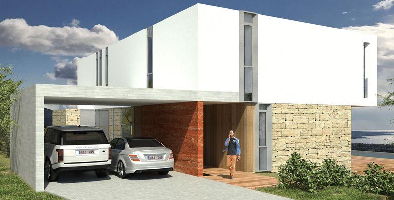 Exterior Of Villa (Artist Impression)