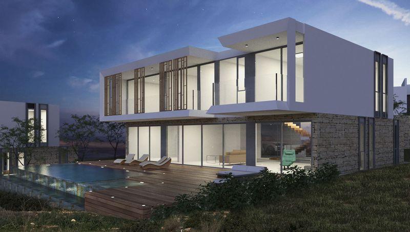 Villa And Swimming Pool (Artist Impression)