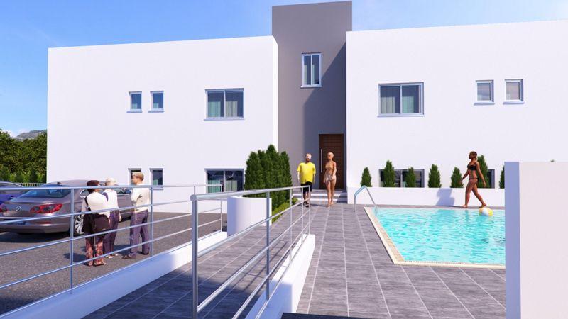 Pool View (artists impression)