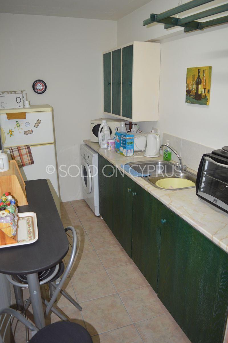 Basement flat kitchen