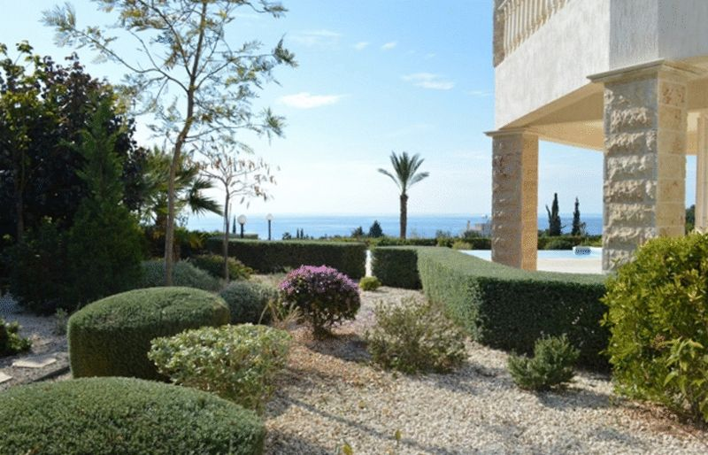 Gardens And Sea Views