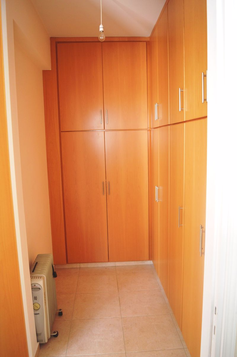 Master walk in wardrobe area