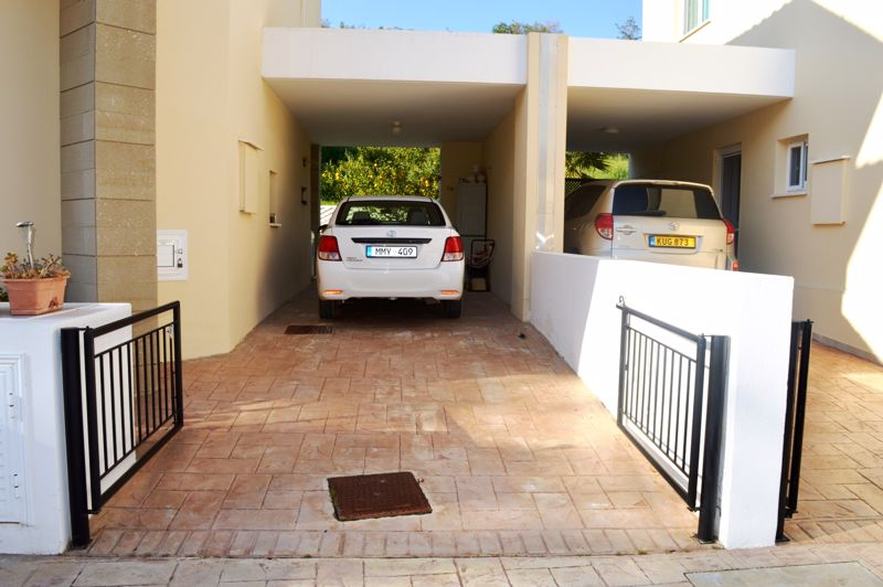 Covered driveway