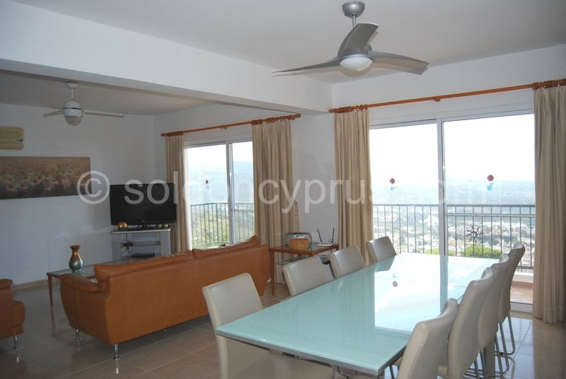 Dining and Lounge Area with Balcony Access