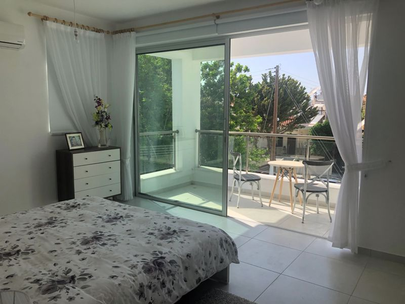 Master Bedroom with Covered Balcony