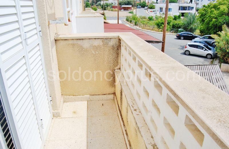 Balcony of master bedroom